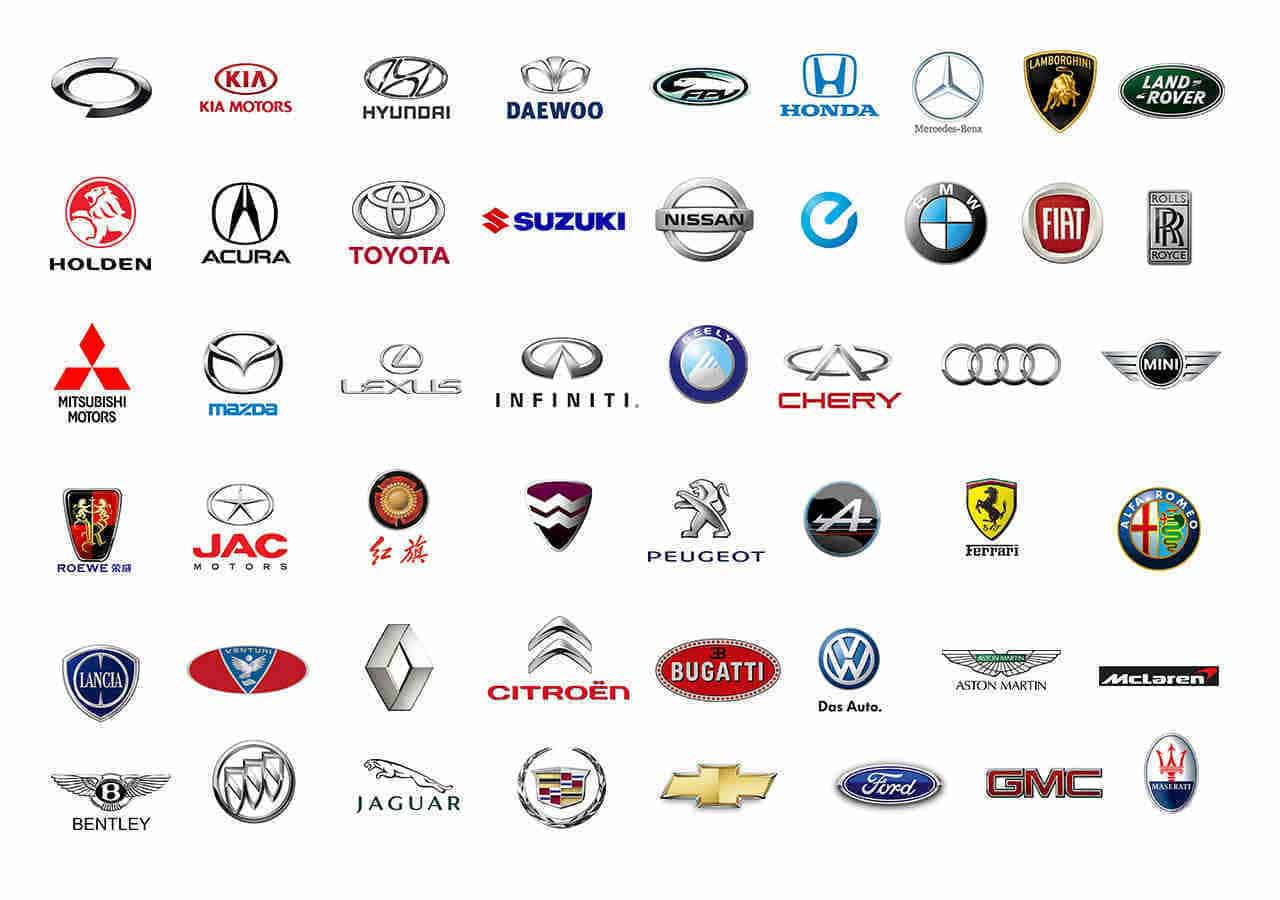 all car brands list and car logos by country amp az