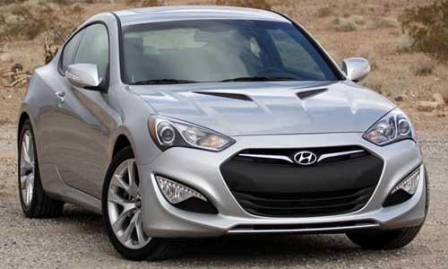 Hyundai 2 Door Coupe