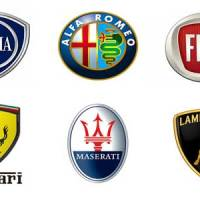 Italian Car Brands Logo