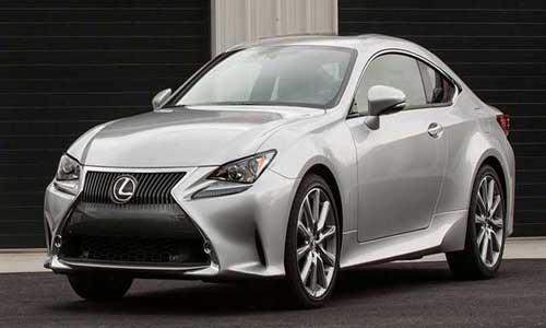 Lexus 2 Door Coupe