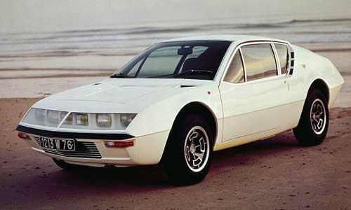 Renault Alpine Old Car