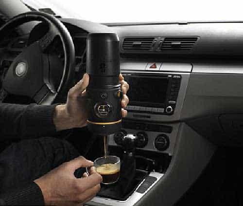 Espresso In Car