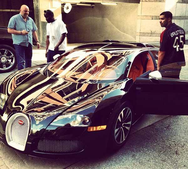 Drake's Bugatti Veyron