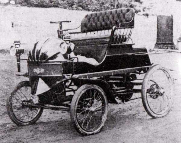 First Hybrid Vehicle
