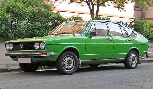 Old Volkswagen Passat