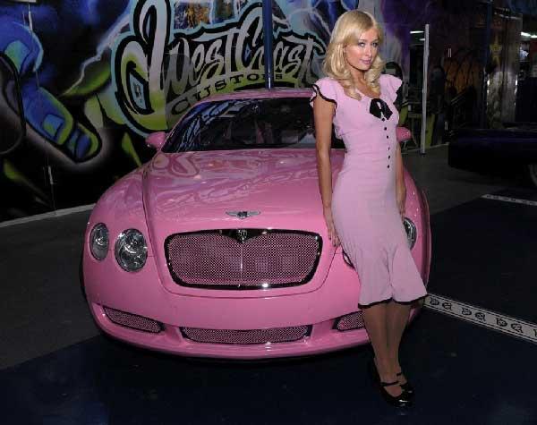 Paris Hilton's Bentley GT Continental