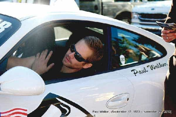 Paul Walker Race Car Driver