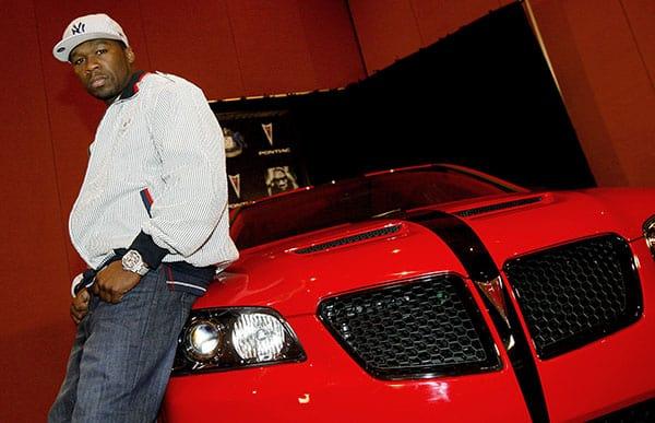 50 Cent's Pontiac G8