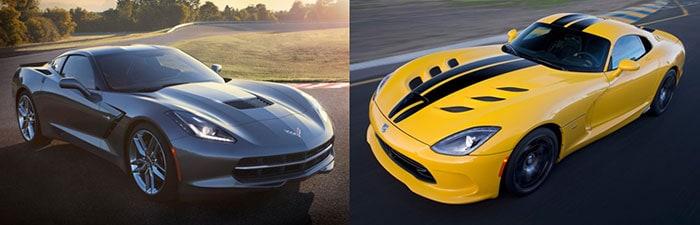 Chevrolet Corvette Stingray vs Dodge SRT Viper