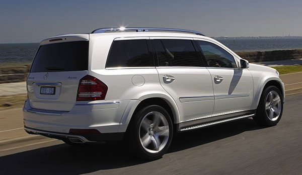 Mercedes-Benz GL-Class Exterior Back