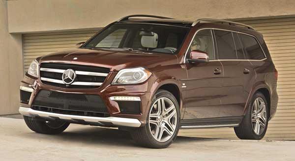 Mercedes-Benz GL-Class Exterior Front