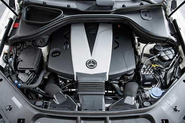 Mercedes-Benz GL-Class Hood