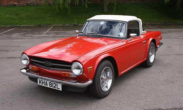 1969-1973 Triumph TR6
