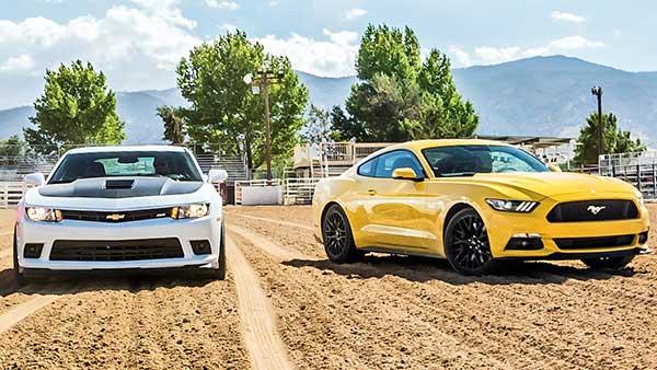 2015 Ford Mustang GT vs Chevrolet Camaro SS