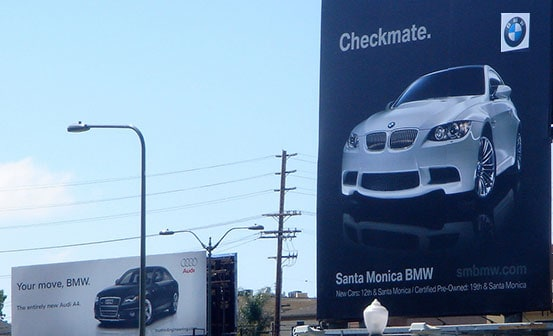 BMW vs Audi Ads