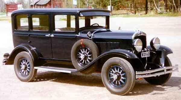 Chyrsler Vehicles 1930s