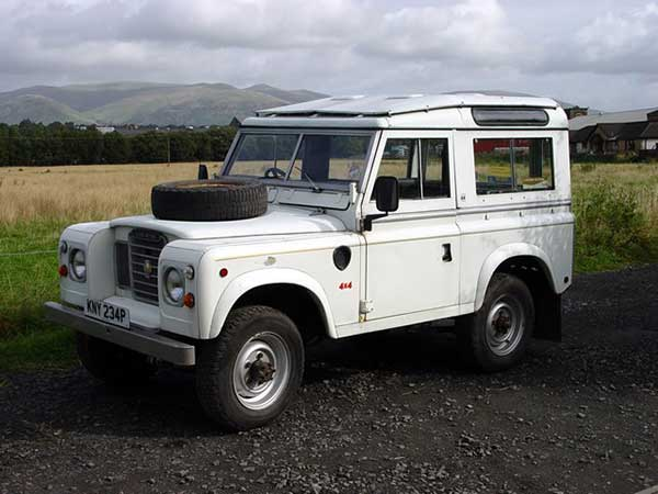 Land Rover in 1965
