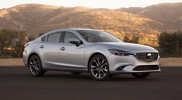 Mazda Cars Today