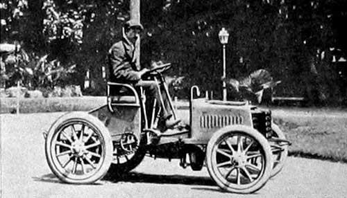 Beginning of the Bugatti history