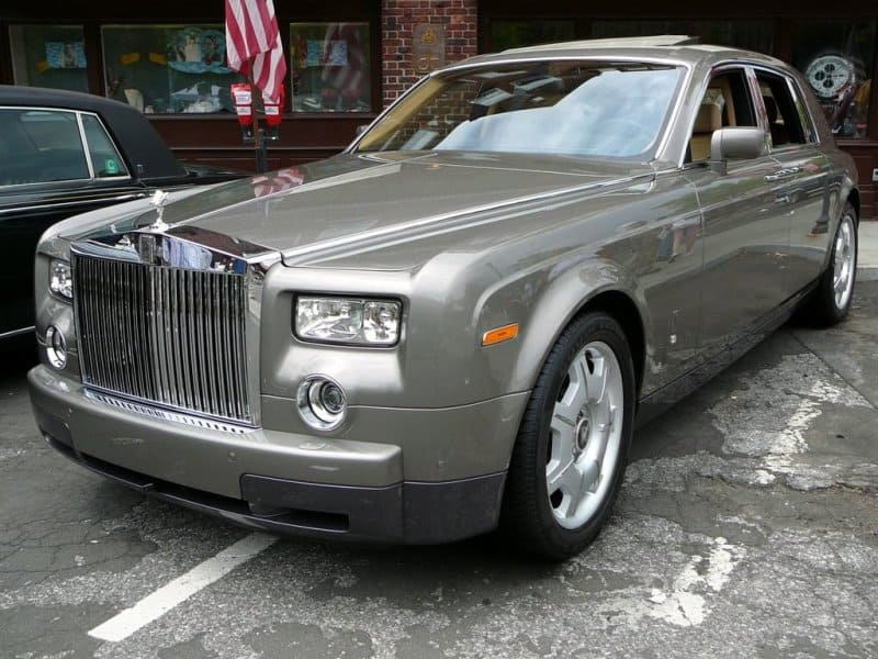 Rolls Royce Phantom Sedan Exterior