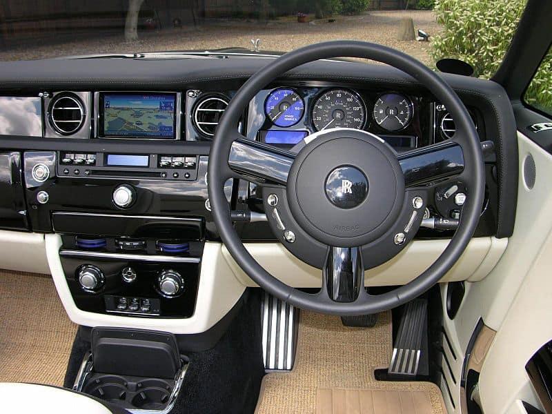 Rolls Royce Phantom Sedan Interior