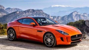 Exterior of Jaguar F – Type (SVR)