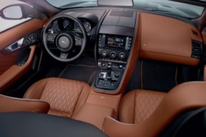 Interior of Jaguar F – Type (SVR)